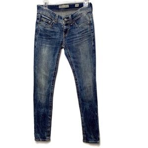 BKE Buckle Sabrina Blue Skinny Jeans